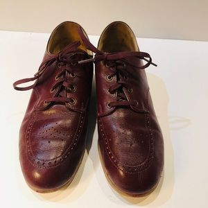 Brown loafers in size 7 1/2.